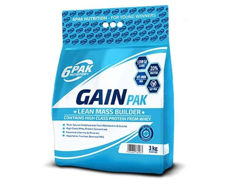Гейнер 6PAK Nutrition Gain Pak 3000g