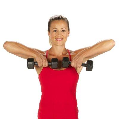 Тренировка рук для девушек: расписание занятий, виды и описание упражнения с фото, пошаговая инструкция выполнения и проработка мышц рук и тела