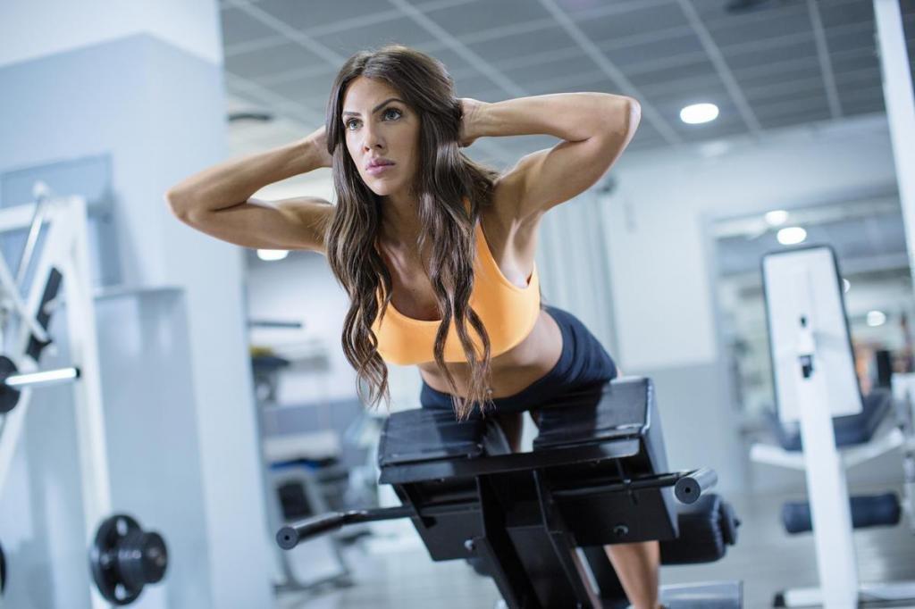 тренировки в тренажерном зале для женщин