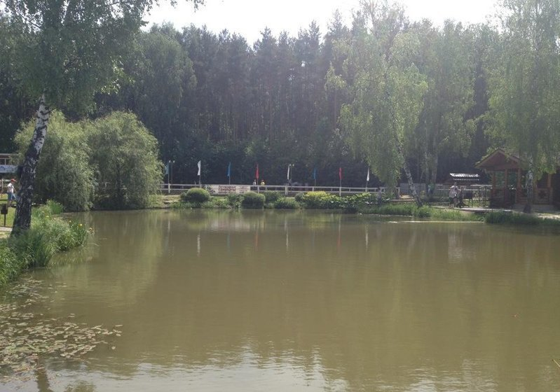 водоем на территории клуба