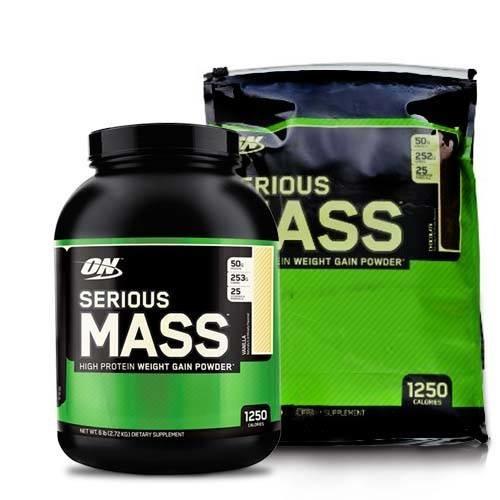 гейнер serious mass для набора массы