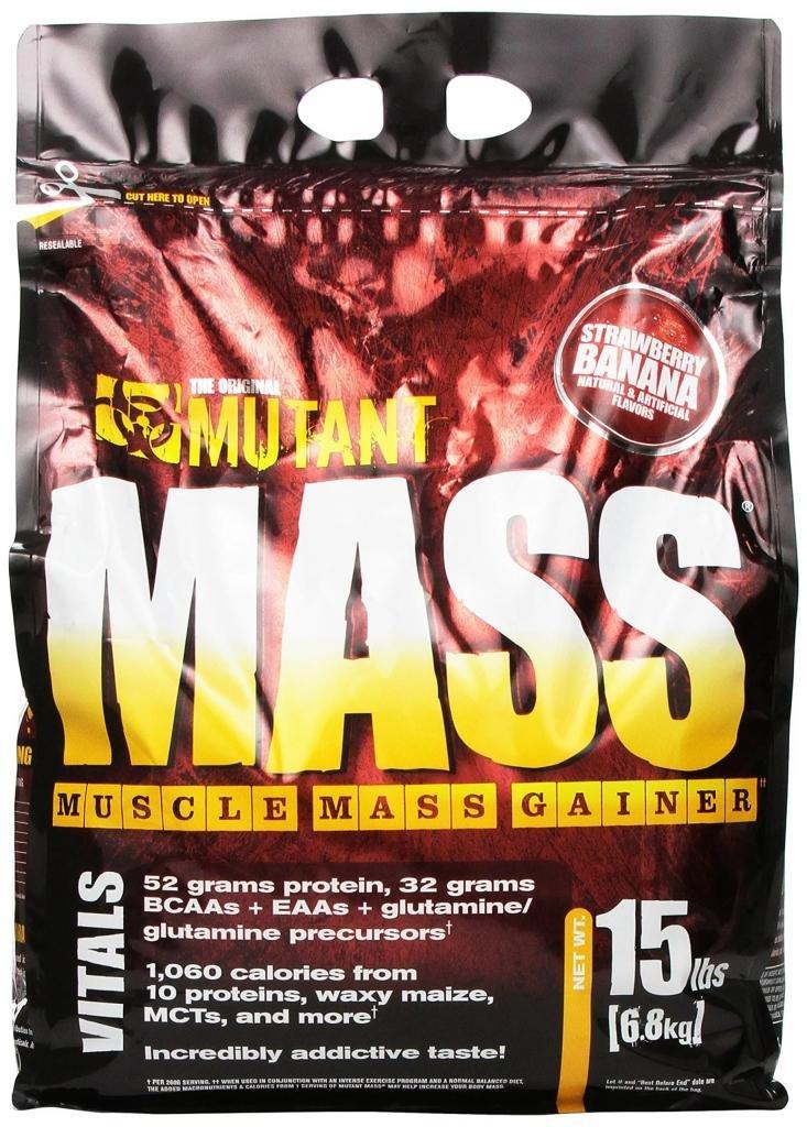 mutant mass гейнер для набора веса