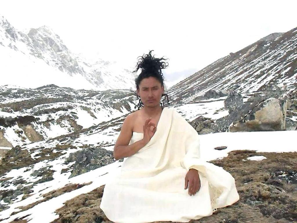 тибет медитирующий