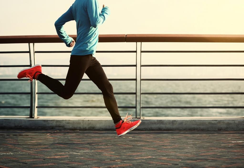 умеренный бег