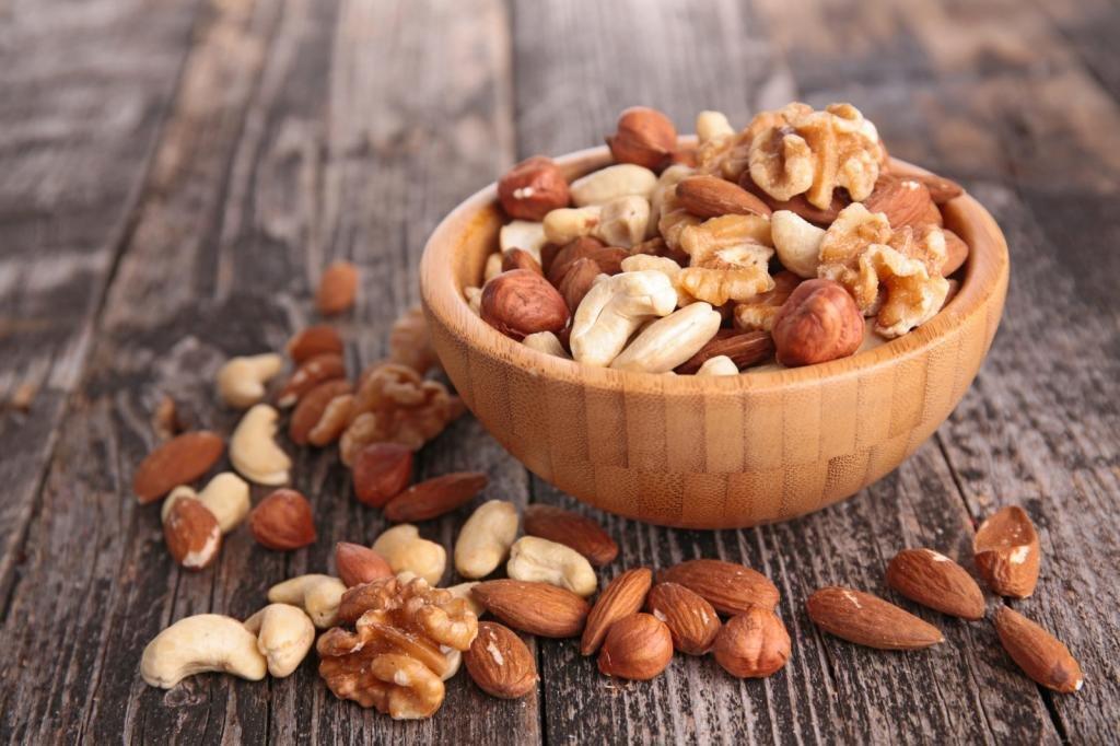 Орехи на перекус