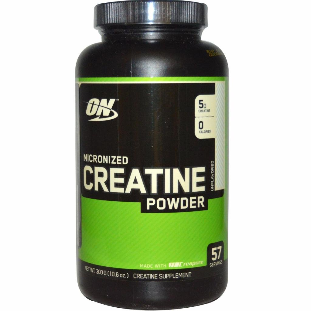 Упаковка креатина Optimum Nutrition Micronized Creatine Powder