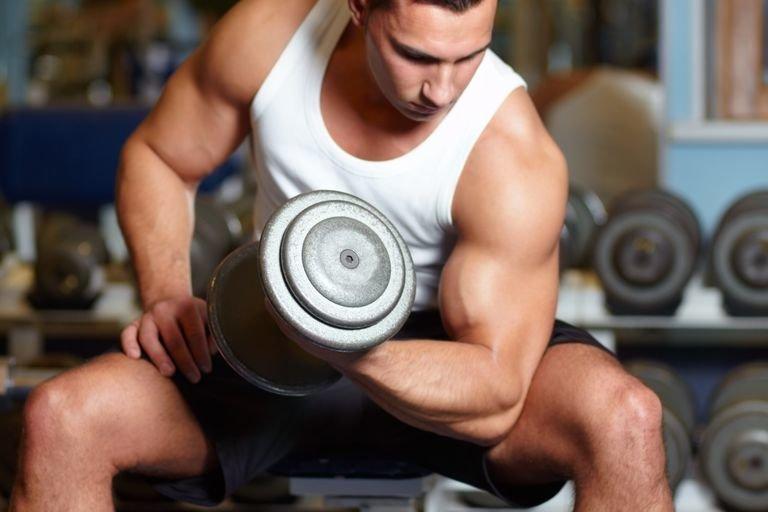 тренировка на мышцы
