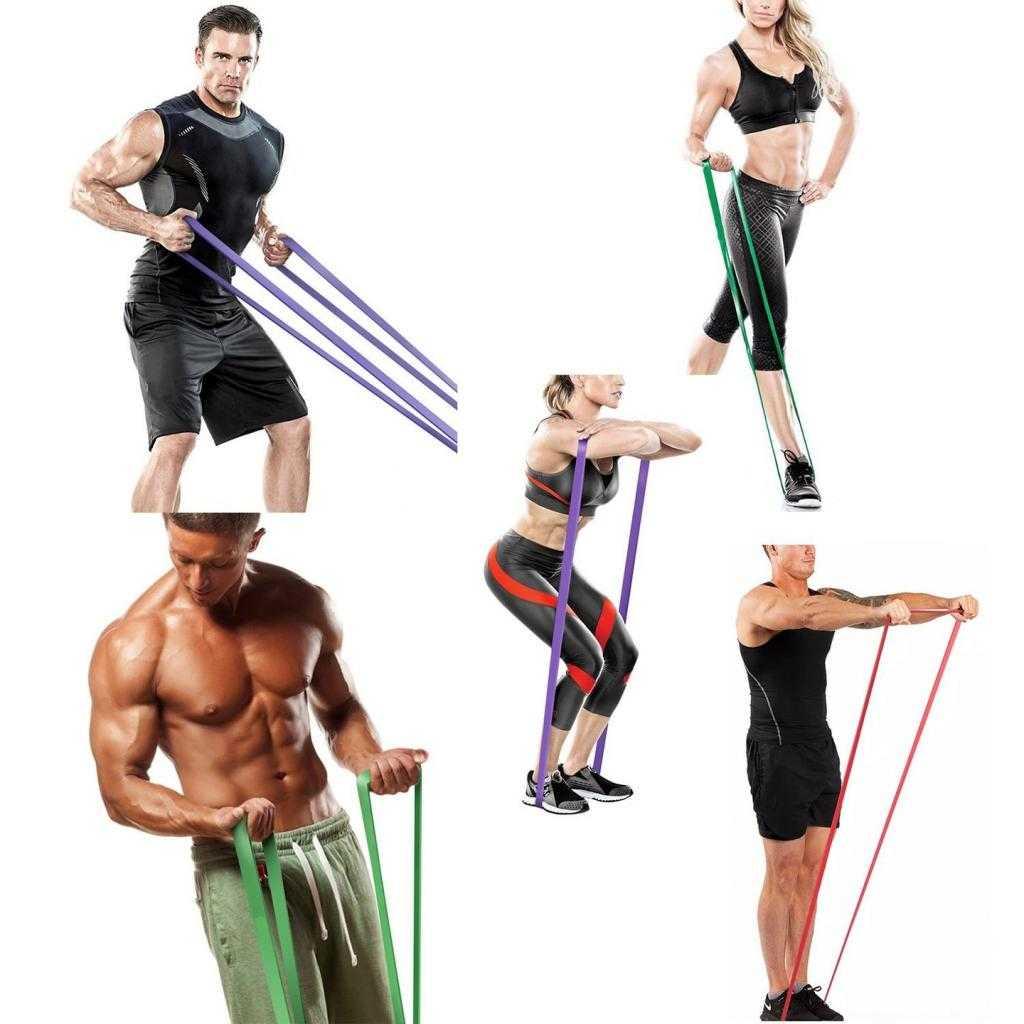 друзья упражнения со жгутом с картинками тому же